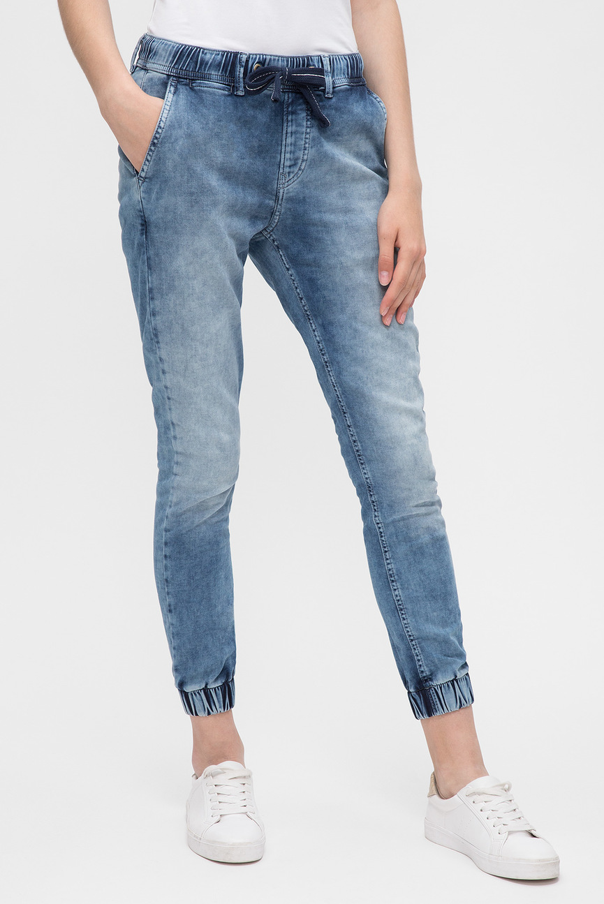 Женские голубые джинсы COSIE