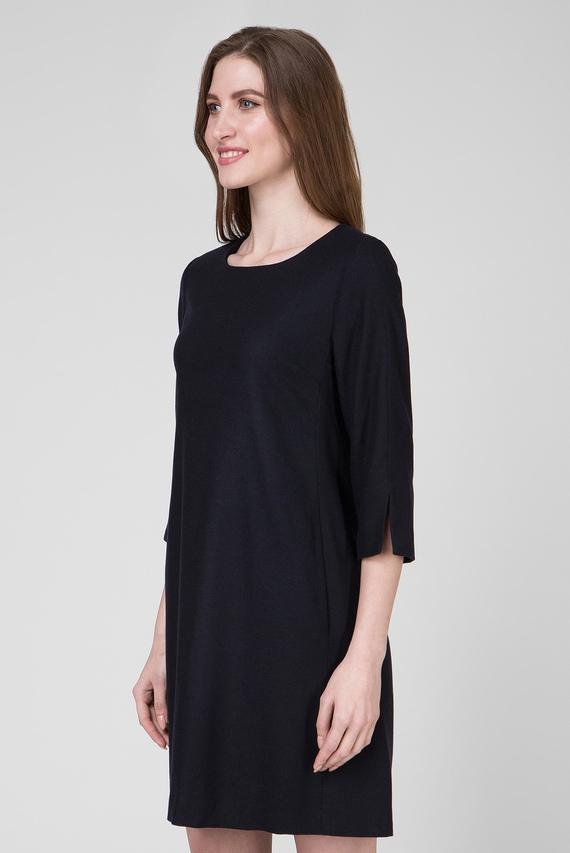Женское темно-синее платье WASHABLE