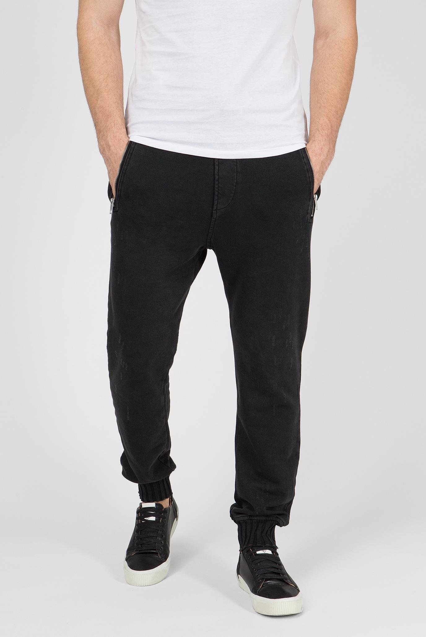 Купить Мужские черные спортивные брюки P-DOC PANTALONI Diesel Diesel 00SIDW 0JATA – Киев, Украина. Цены в интернет магазине MD Fashion