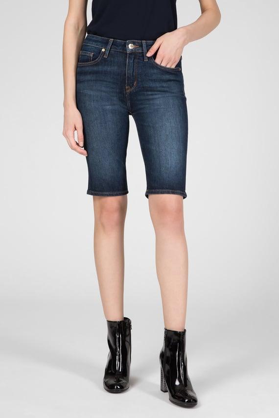 Женские синие джинсовые шорты VENICE SLIM BERMUDA