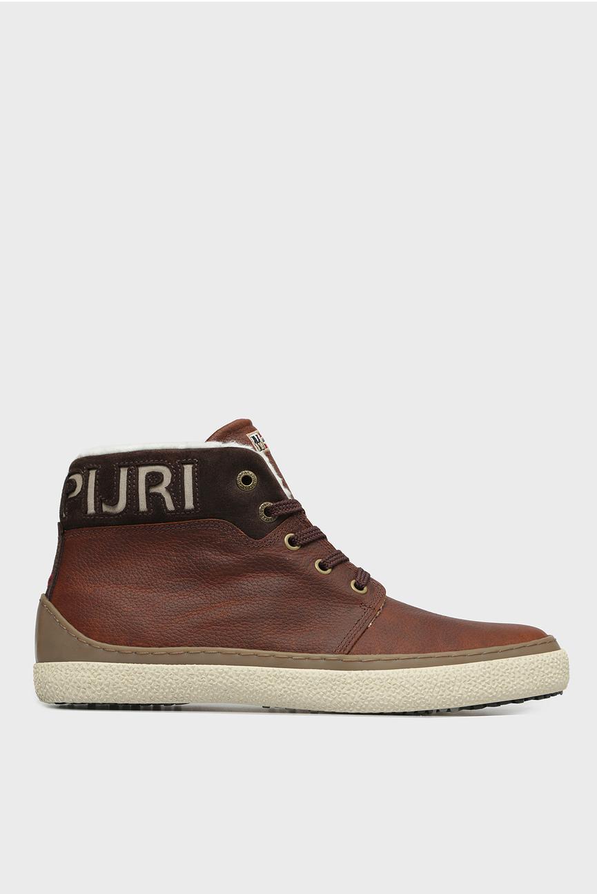 Мужские коричневые кожаные ботинки JAKOB