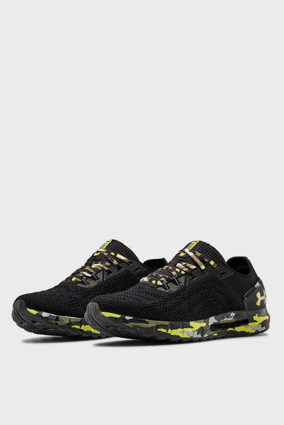 Мужские черные кроссовки UA HOVR Sonic 2 Camo