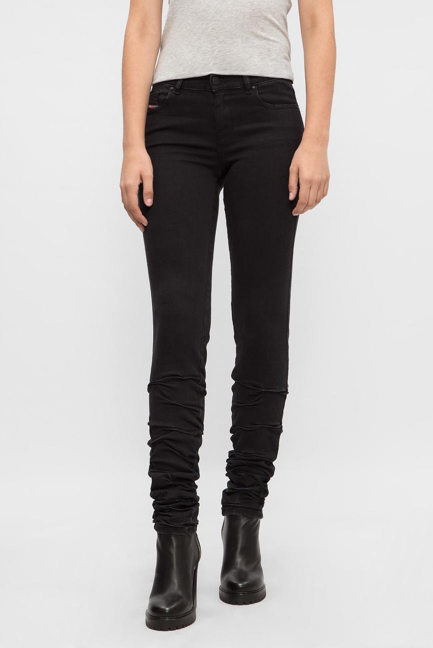 Женские черные джинсы PLIXEE
