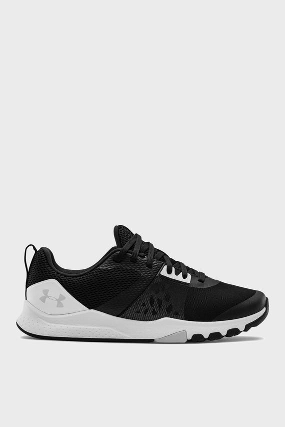 Жіночі чорні кросівки UA W TriBase Edge Trainer-BLK