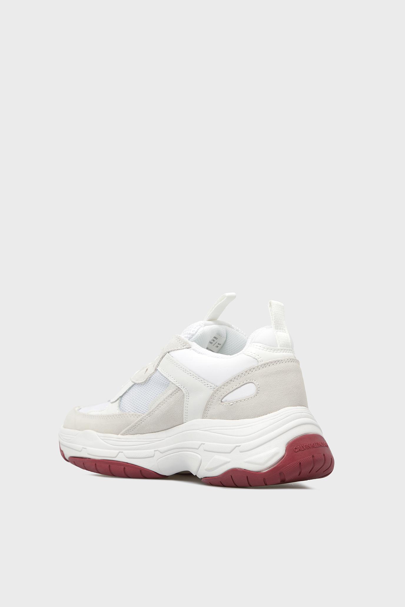 Купить Женские белые кроссовки MAYA Calvin Klein Calvin Klein R0802 – Киев, Украина. Цены в интернет магазине MD Fashion