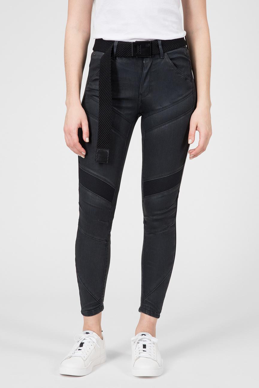 Женские черные джинсы Motac-X D-3D