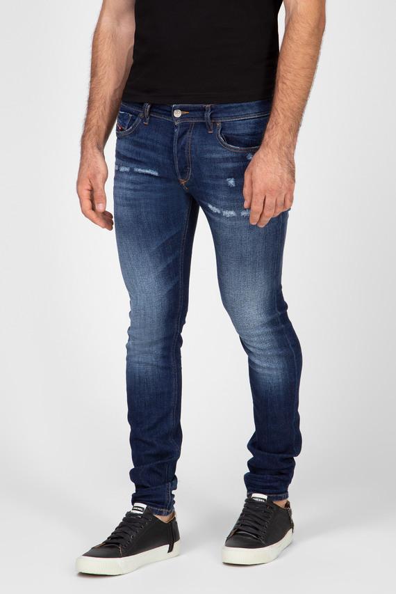Мужские синие джинсы SLEENKER-X