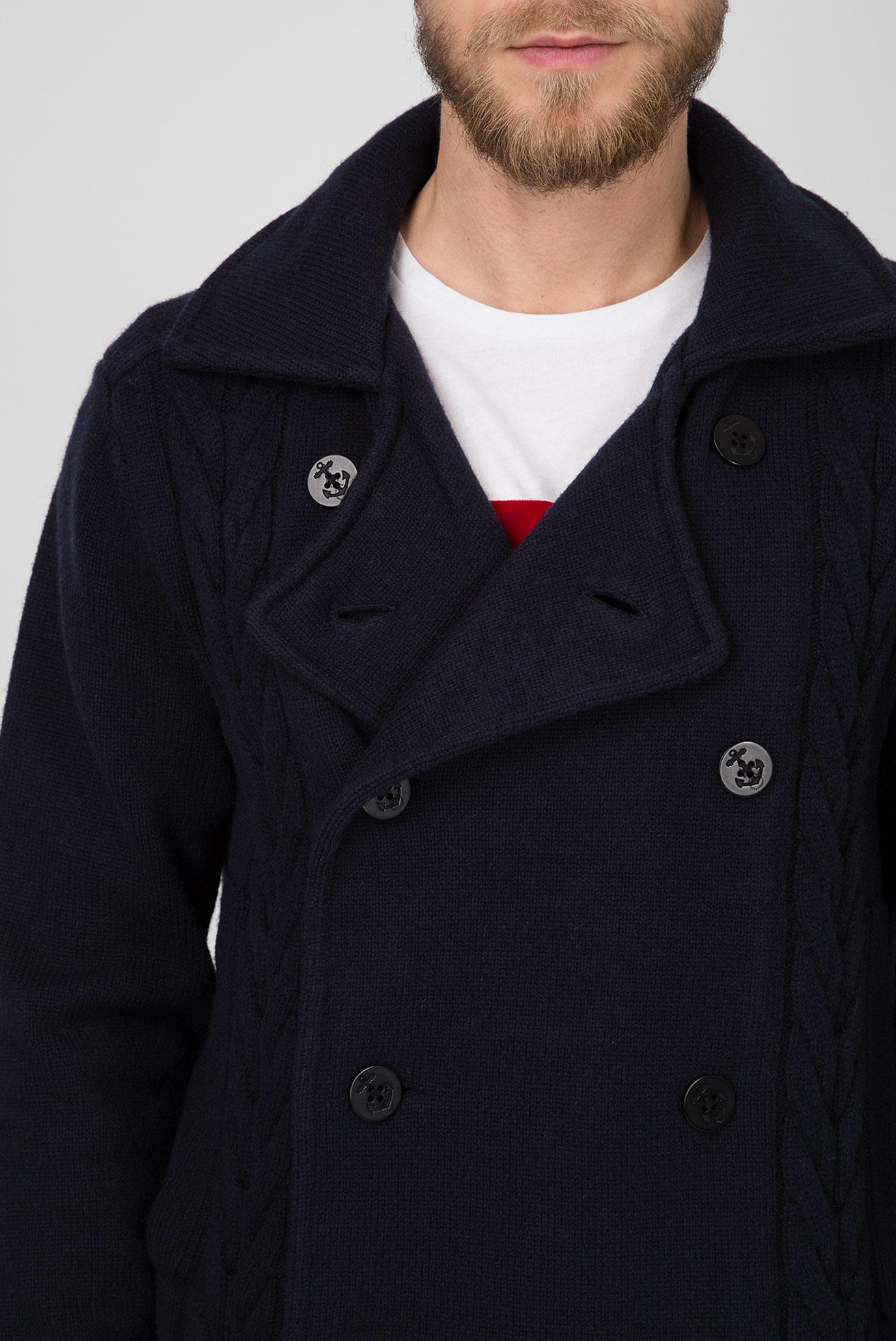Купить Мужское темно-синее полупальто Tommy Hilfiger Tommy Hilfiger MW0MW07901 – Киев, Украина. Цены в интернет магазине MD Fashion