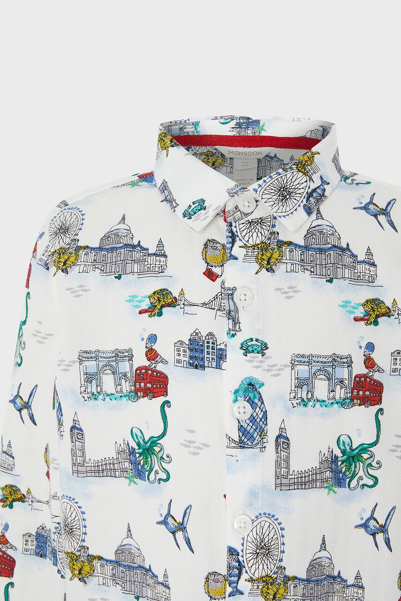 Купить Детская белая рубашка Luca London Monsoon Children Monsoon Children 616694 – Киев, Украина. Цены в интернет магазине MD Fashion