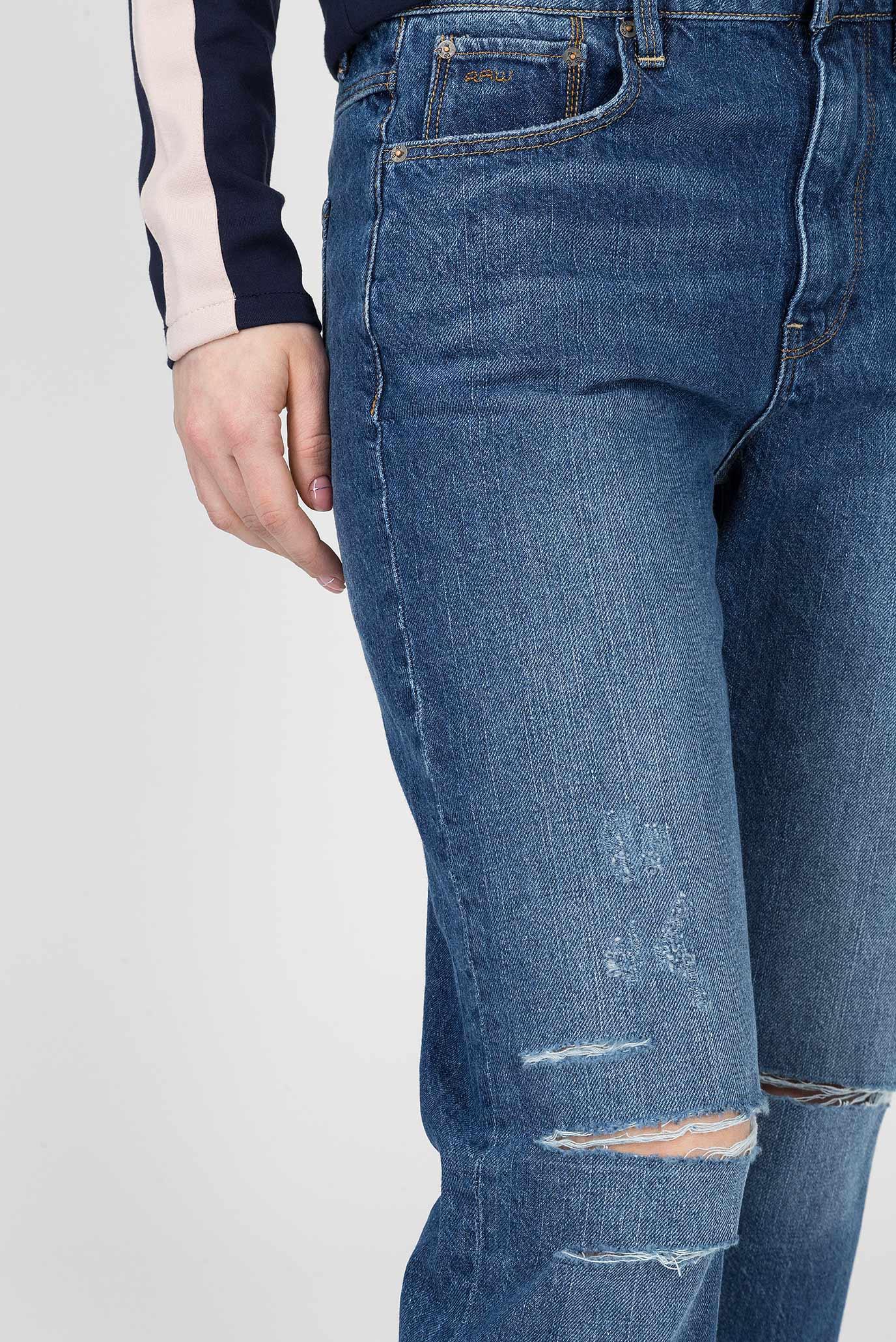 Купить Женские синие джинсы 3301 G-Star RAW G-Star RAW D11605,8973 – Киев, Украина. Цены в интернет магазине MD Fashion