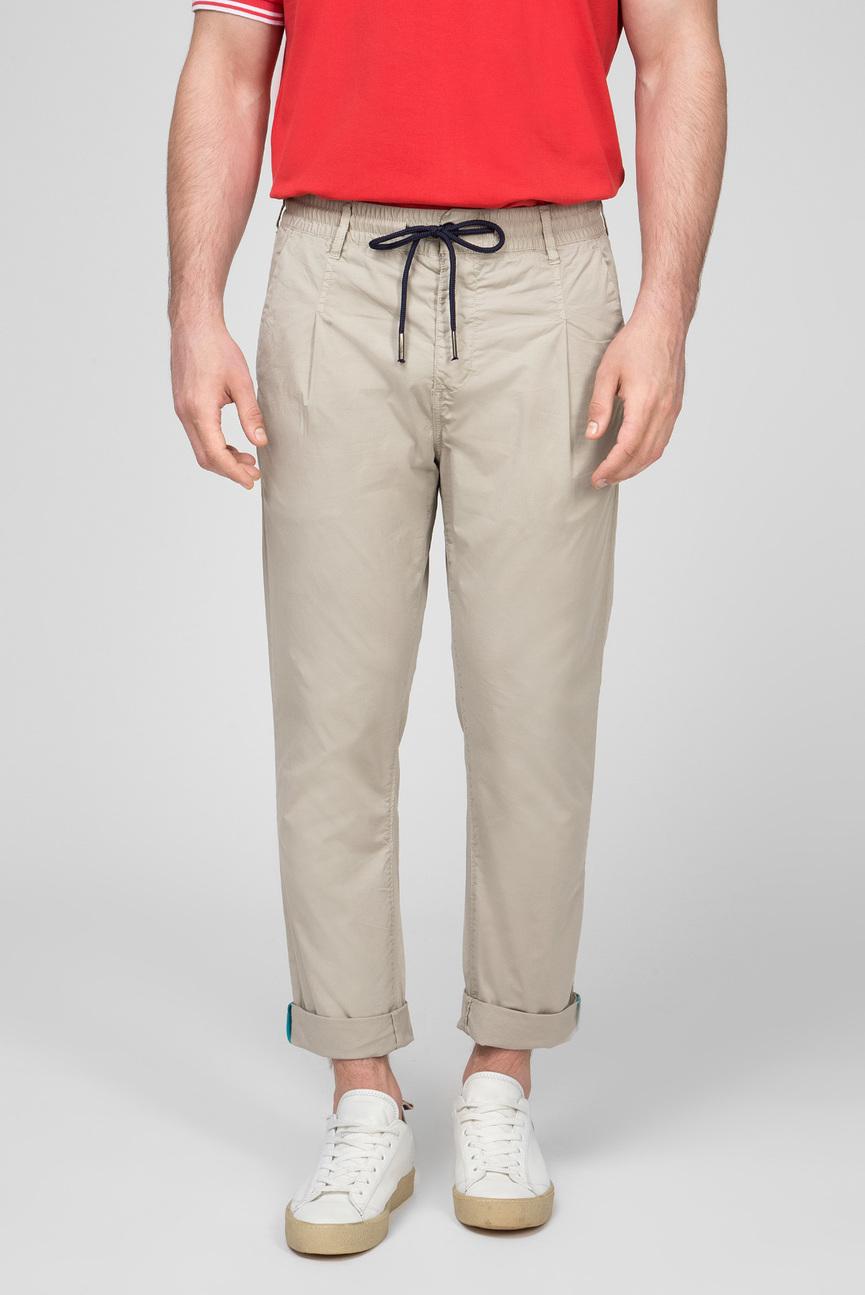 Мужские бежевые брюки PIERCE
