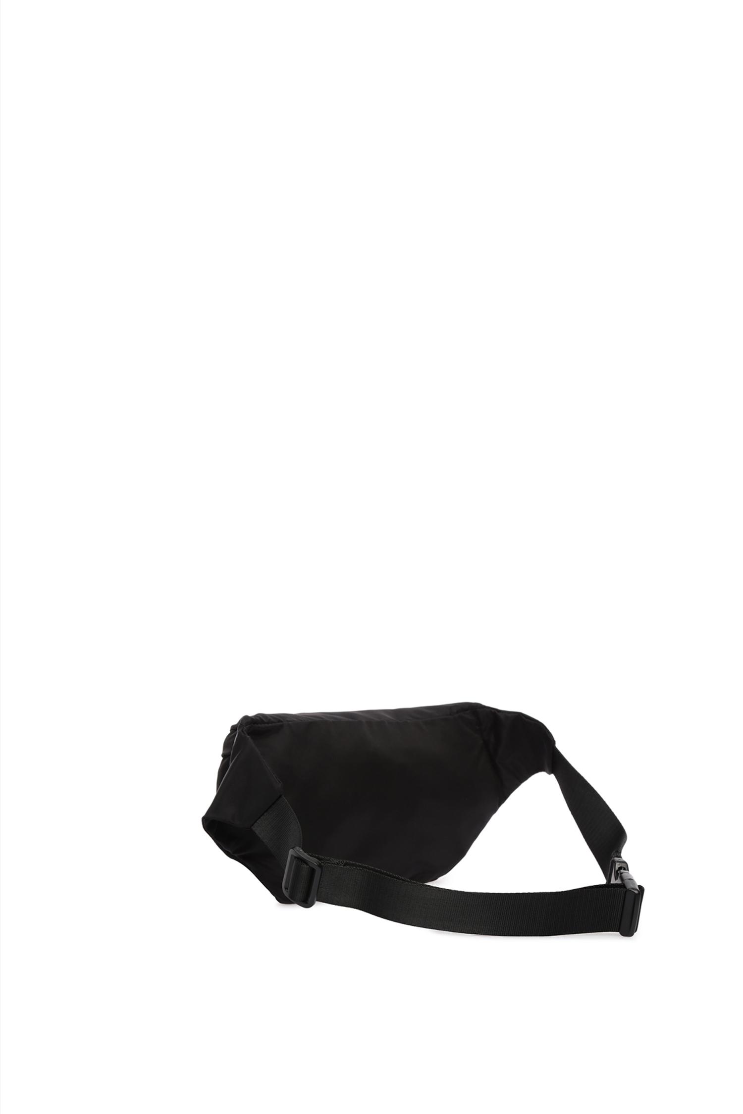 Мужская черная поясная сумка Guess