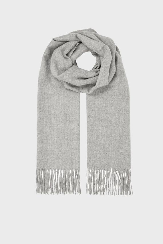 Женский серый шарф HOLLY SUPERSOFT BLAN