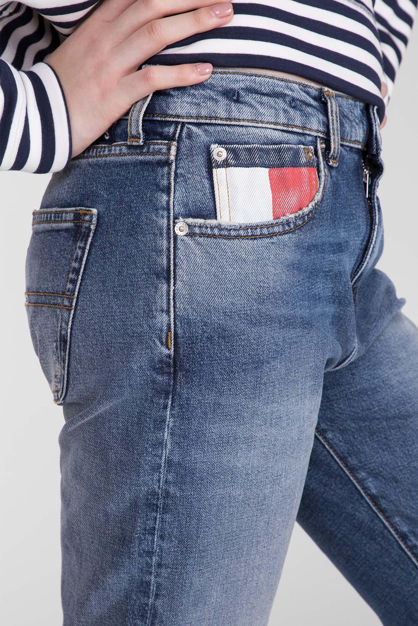 Женские синие джинсы BOYFRIEND Tommy Hilfiger