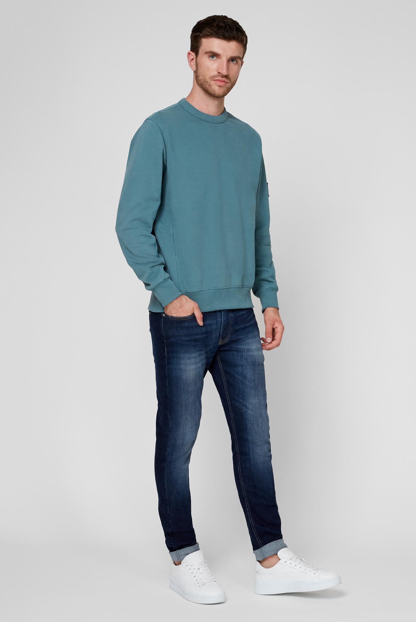 Мужские темно-синие джинсы CKJ 058 SLIM TAPER Calvin Klein