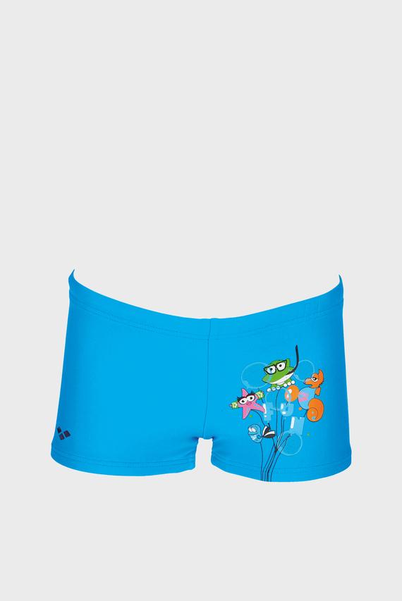 Детские голубые плавки AWT KIDS BOY SHORT
