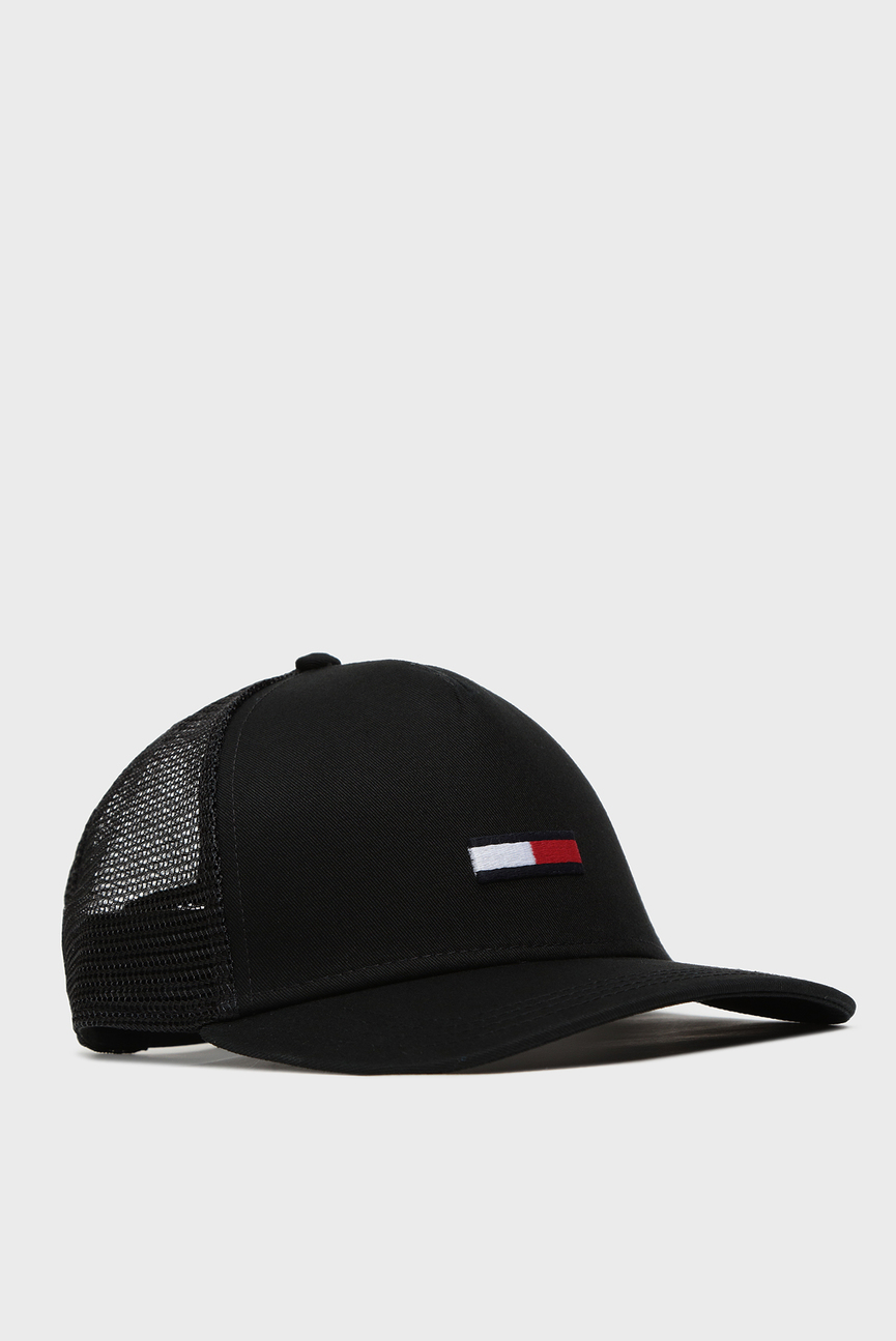 Мужская черная кепка TJM Trucker Flag Cap