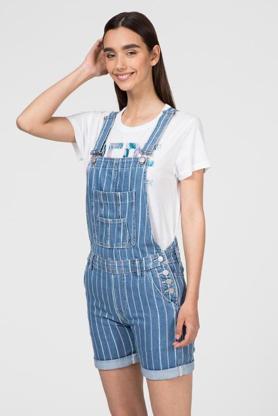Женский синий джинсовый комбинезон AVA