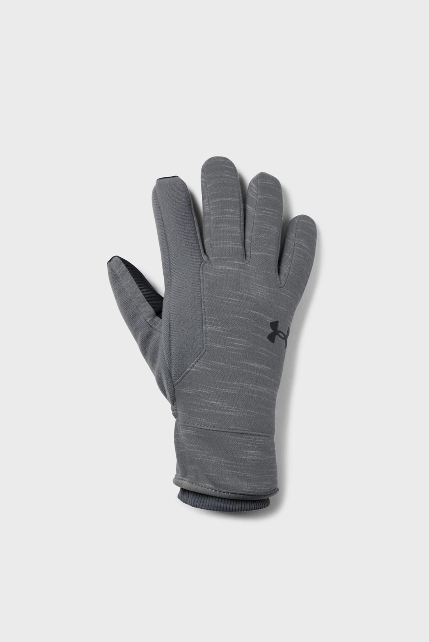 Купить Мужские серые перчатки Men's CGI Elements Glove Under Armour Under Armour 1321239-040 – Киев, Украина. Цены в интернет магазине MD Fashion