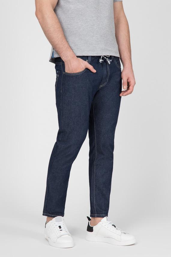 Мужские темно-синие джинсы SENNEN