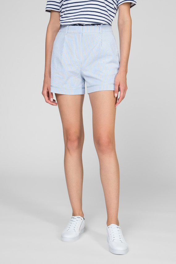 Женские голубые шорты MOLLY
