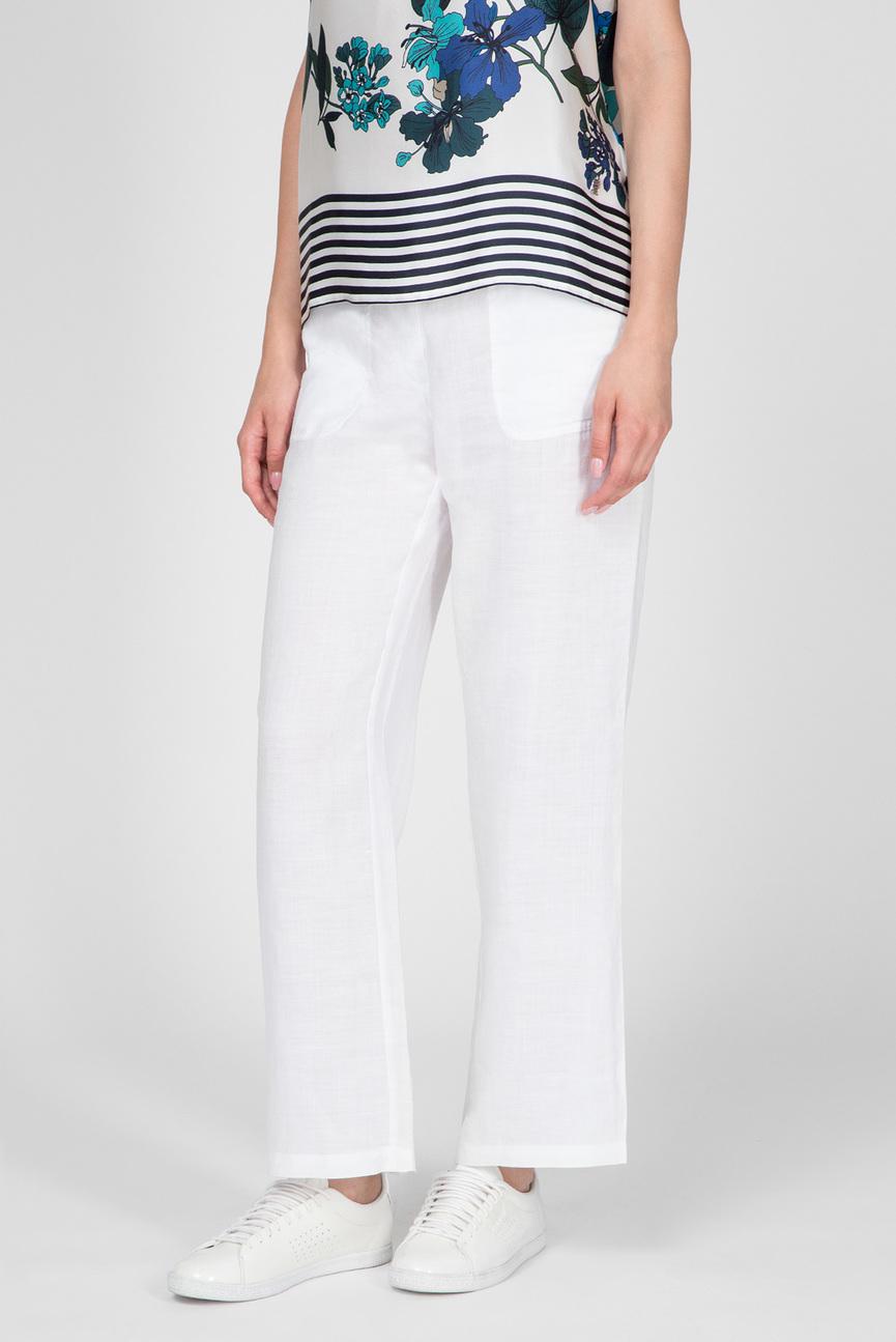 Женские белые брюки