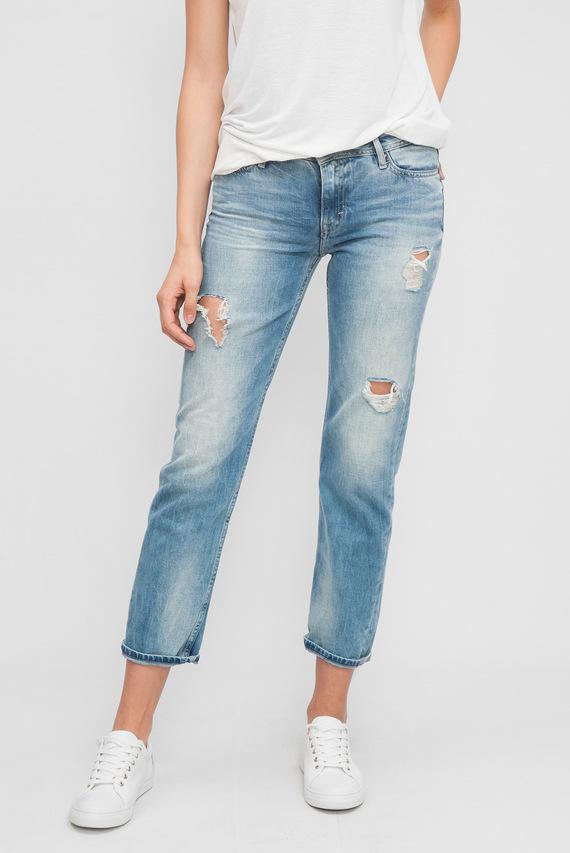 Женские голубые джинсы STRAIGHT ANKLE SUKY