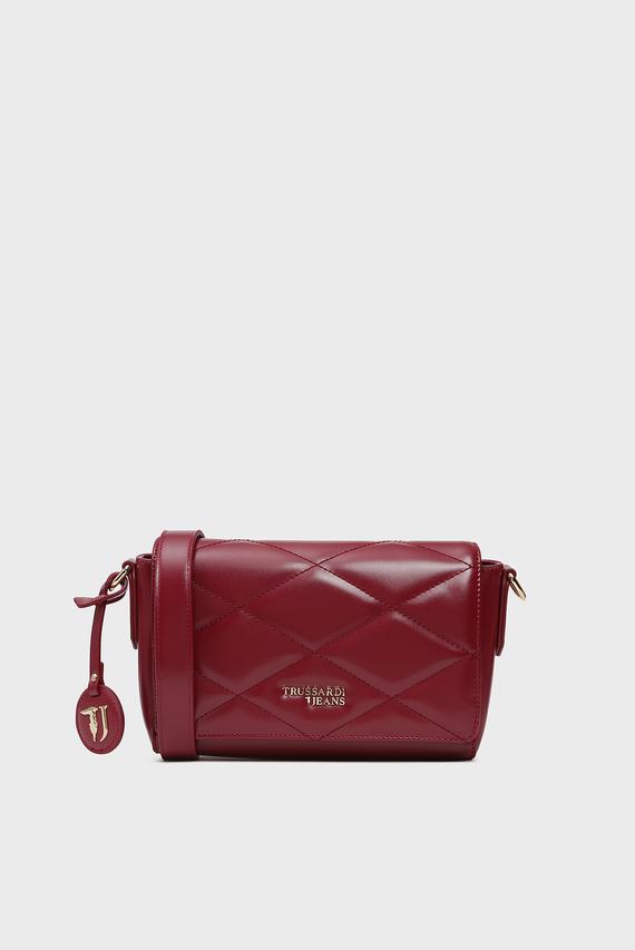 Женская бордовая сумка через плечо T-EASY CITY QUILT CACCIATORA