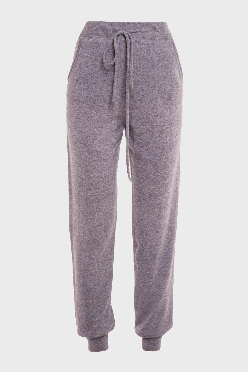 Женские серые спортивные брюки TROUSERS PLAIN