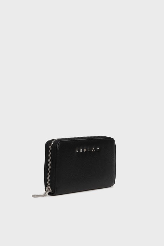 Женский черный кошелек