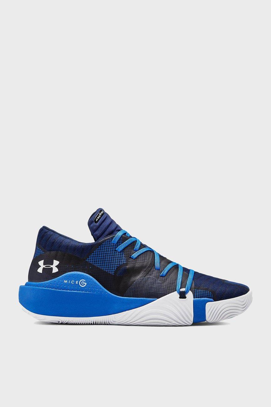 Мужские синие кроссовки UA Spawn Low
