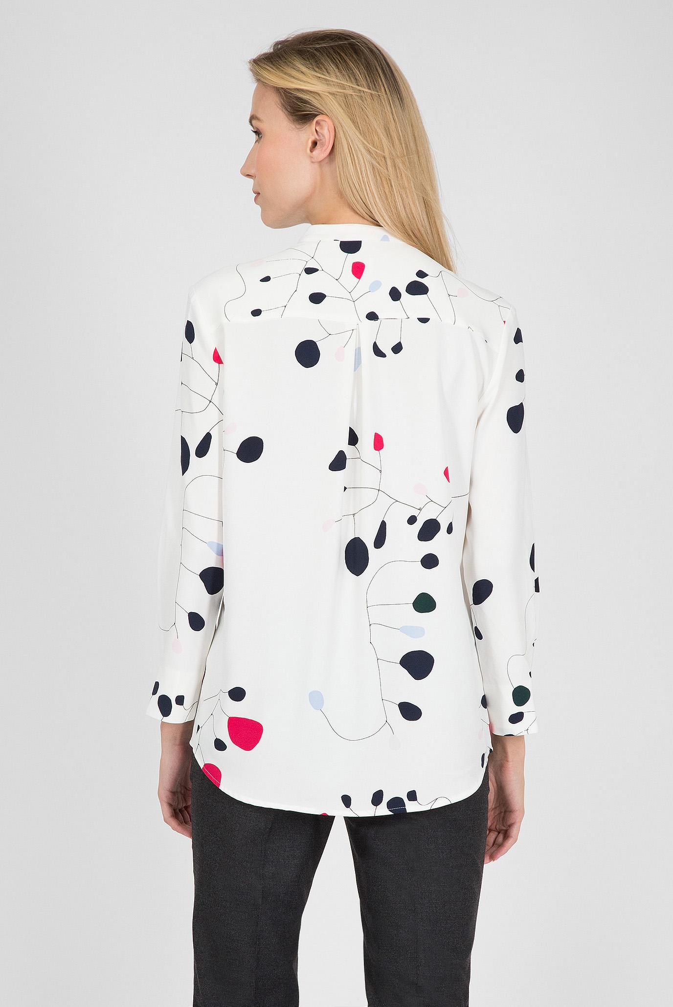 6cd0b7d937c3487 Купить Женская белая рубашка с принтом Gant Gant 4301037 – Киев, Украина.  Цены в интернет магазине MD Fashion