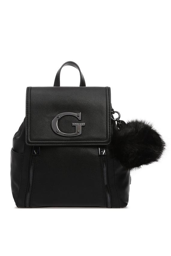 Женский черный рюкзак KAROLA LARGE