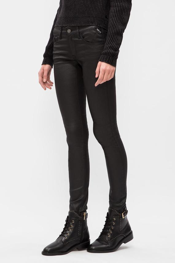 Женские черные джинсы LUZ BACK ZIP