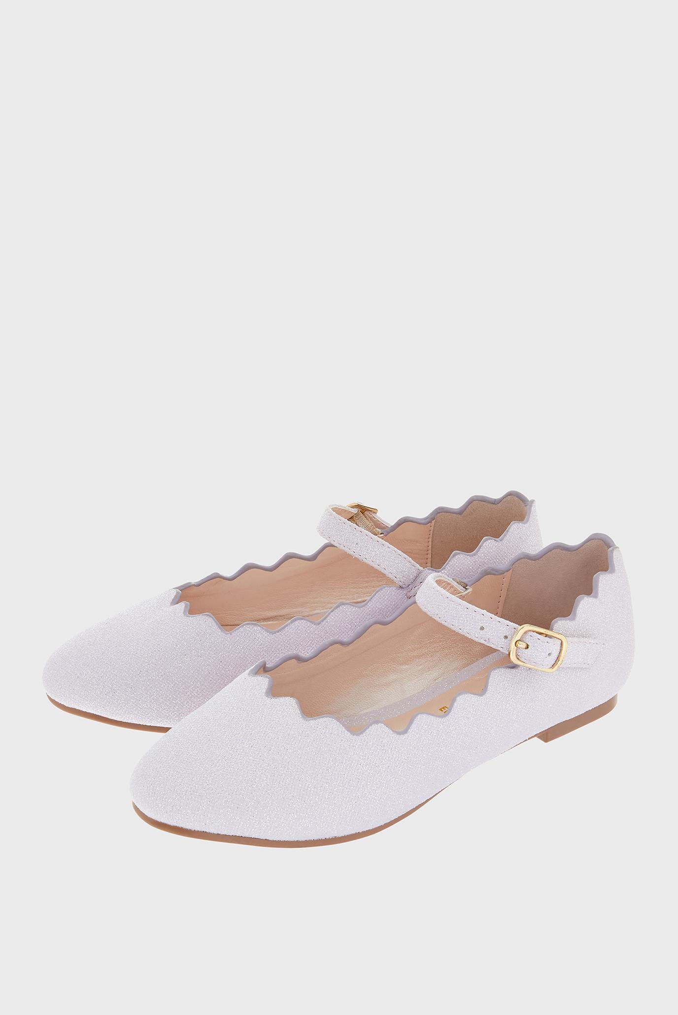 8469704e Купить Детские розовые туфли LILLIAN SCALLOPED Monsoon Children ...