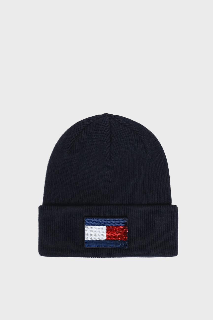Женская темно-синяя шапка SWAP YOUR PATCH