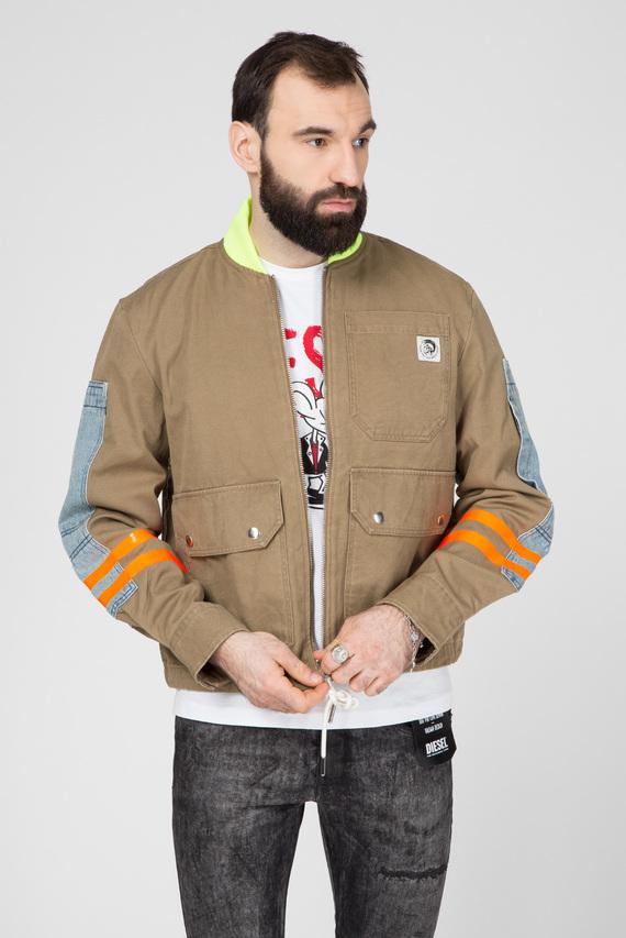 Мужская оливковая куртка J-STORCH
