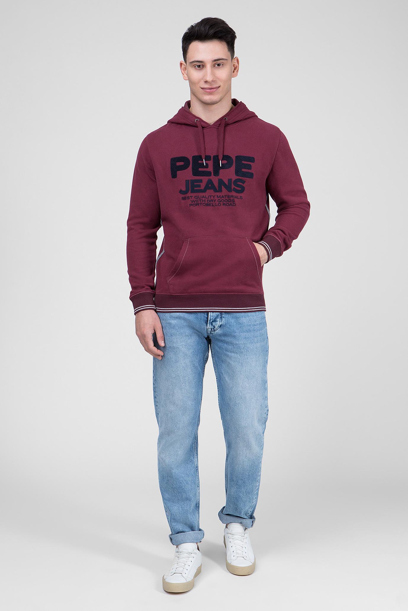 Купить Мужское бордовое худи ZEN Pepe Jeans Pepe Jeans PM581488 – Киев, Украина. Цены в интернет магазине MD Fashion