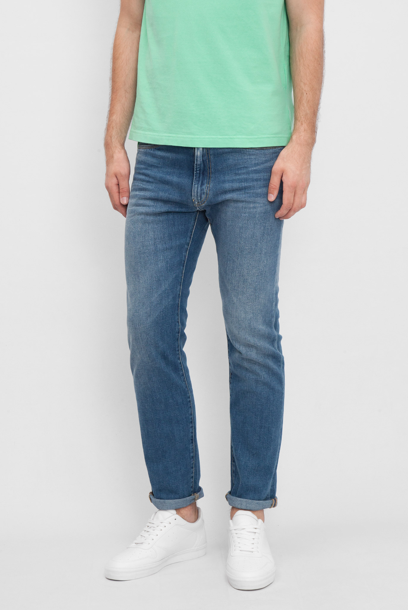Купить Мужские синие джинсы  Tommy Hilfiger Tommy Hilfiger DM0DM02101 – Киев, Украина. Цены в интернет магазине MD Fashion