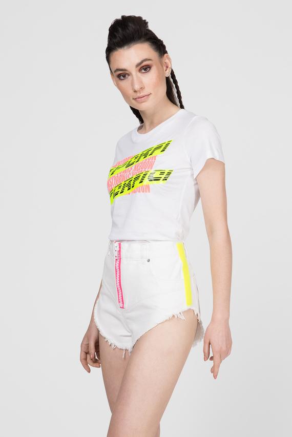 Женская белая футболка T-SUPERY-C