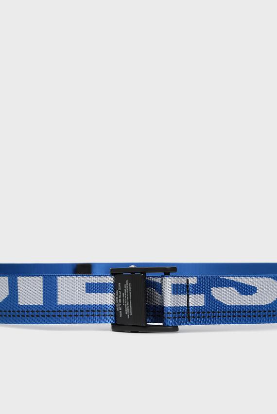Мужской синий ремень B-MASER