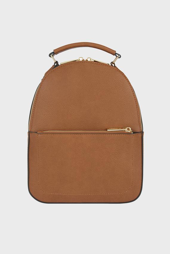 Женский коричневый рюкзак TOMMIE MIDI DOME