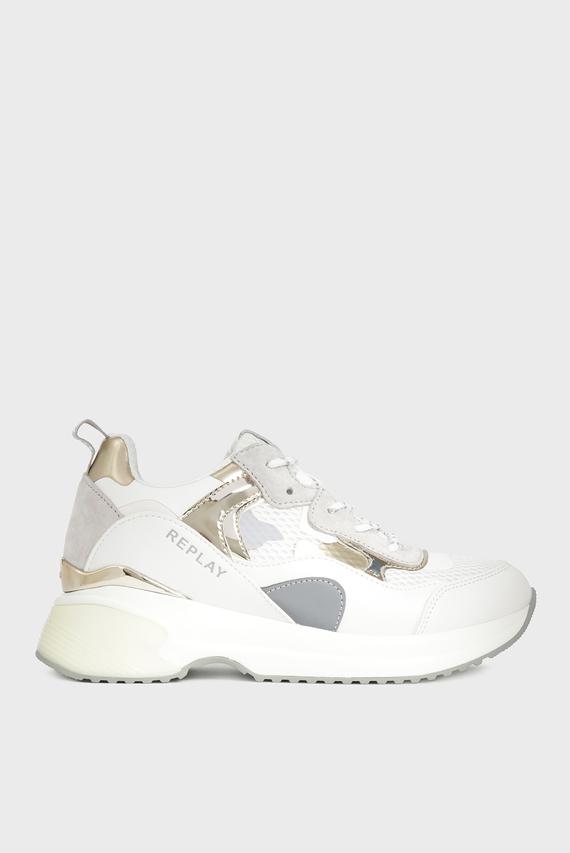 Женские белые кроссовки SCRIPT