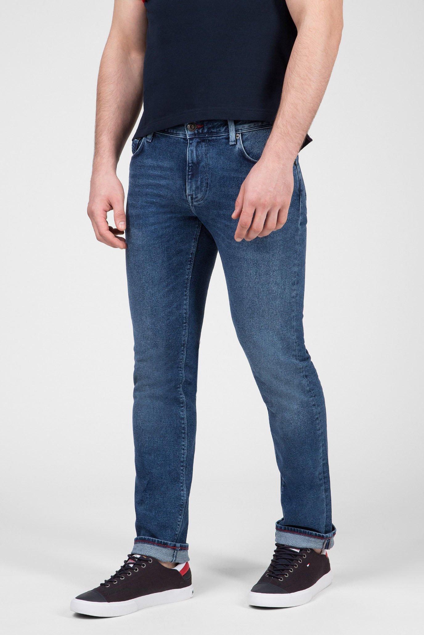 Мужские синие джинсы STRAIGHT DENTON STR ELMORE Tommy Hilfiger