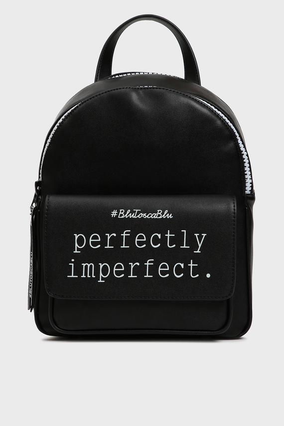 Женский черный рюкзак PERFECT