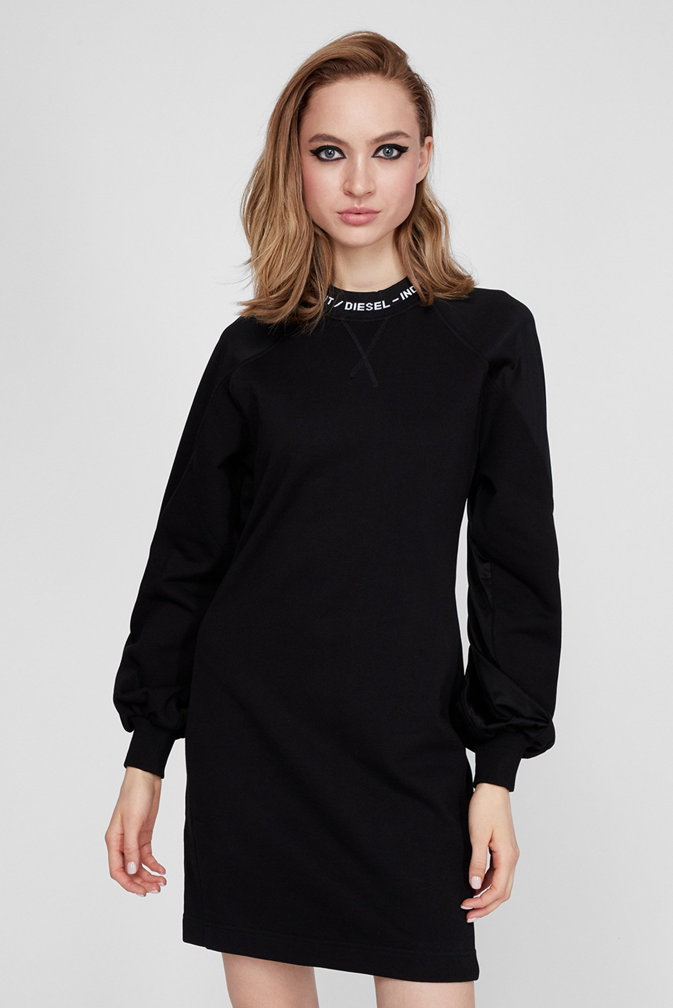 Женское черное платье D-TULLY 1