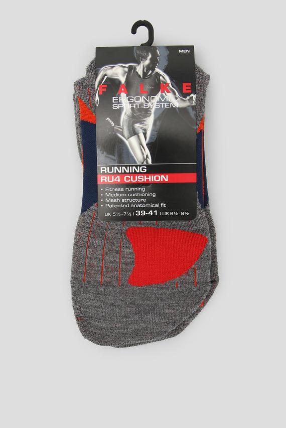 Мужские оранжевые носки для бега RU4 CUSHION