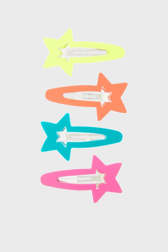 Детская заколка NEON STAR CLIC (4 шт)