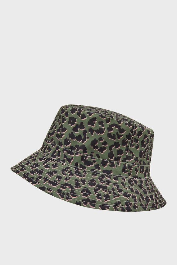 Женская шляпа LEOPARD DOWNBRIM
