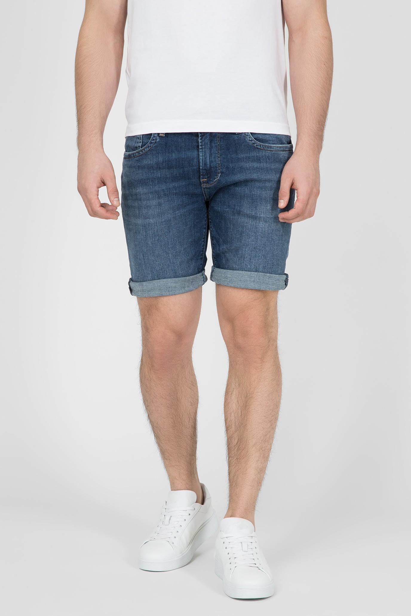 Чоловічі сині джинсові шорти HATCH 1